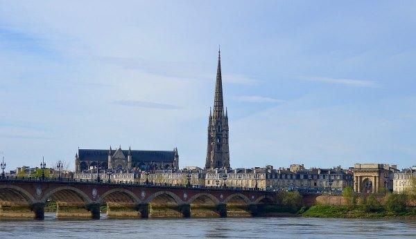 Bridge in Bordeaux