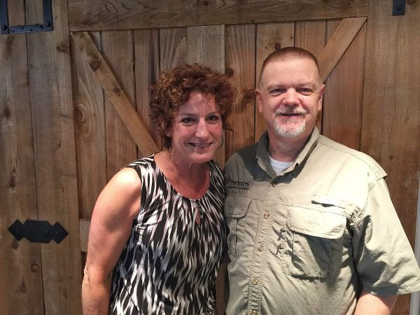 Denise Clarke and Jim Rector