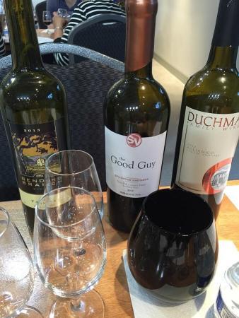 Texas Fine Wine bottles