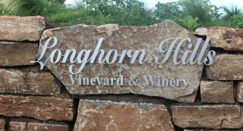 Longhorn Hills sign