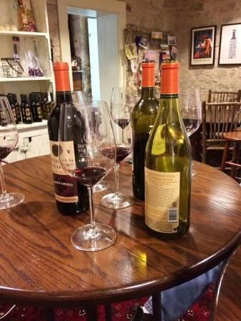 Tasting at Brennan Vineyards