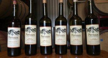 Perissos Aglianico vertical wines