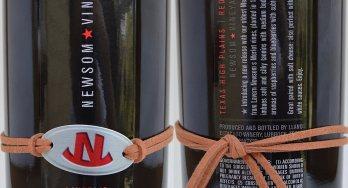 Newsom Vineyards Lavern's labels