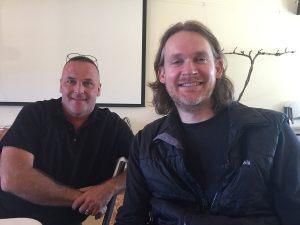 Dave Potter and Chris Hornbaker
