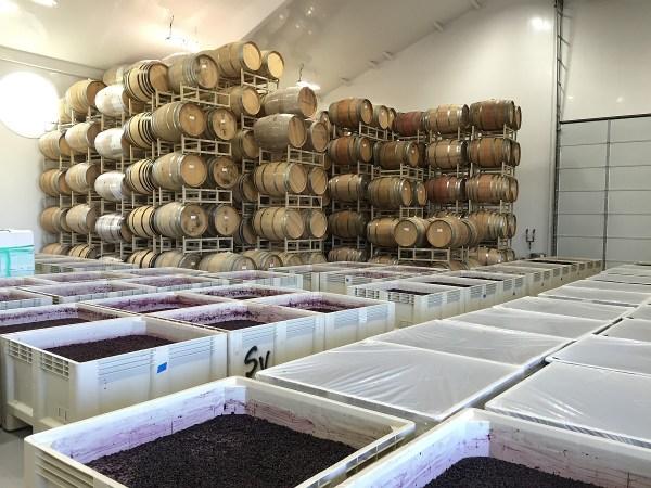 Ron Yates bins and barrels