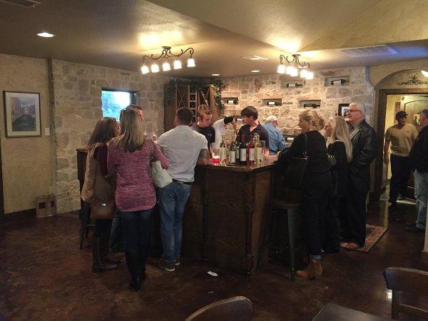 Fortunata Winery inside