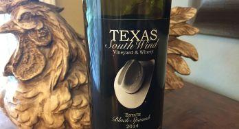 Texas SouthWind Black Spanish bottle
