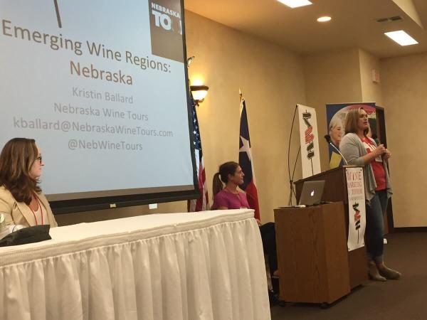 Kristin Ballard from Nebraska presents