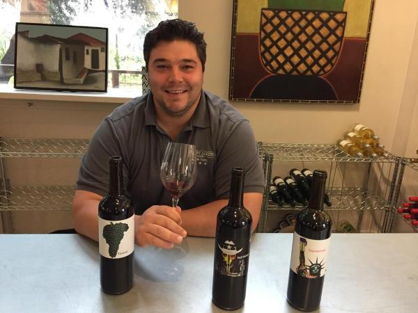 Brock Estes of Fly Gap Winery