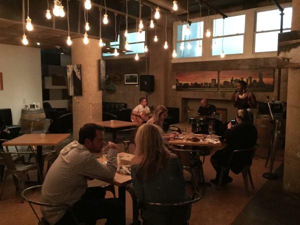 Checkered Past Winery lounge