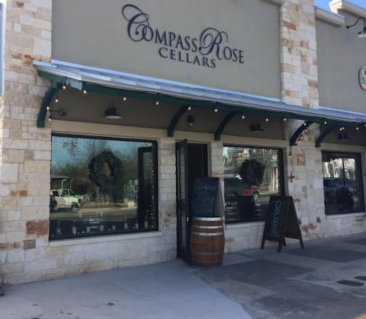 Compass Rose Cellars Fredericksburg outside