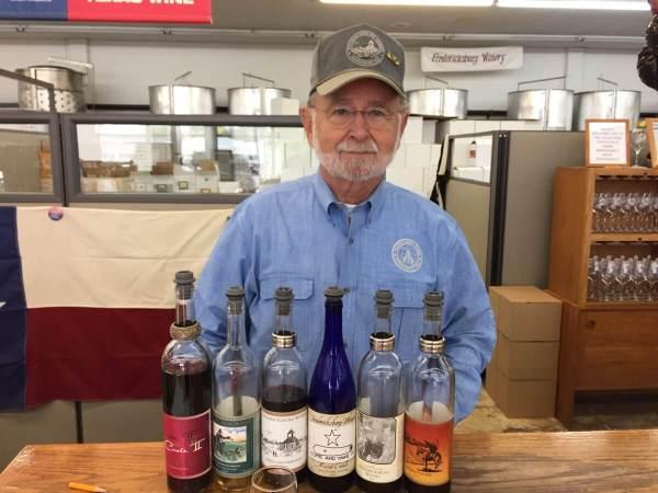 Cord Switzer of Fredericksburg Winery