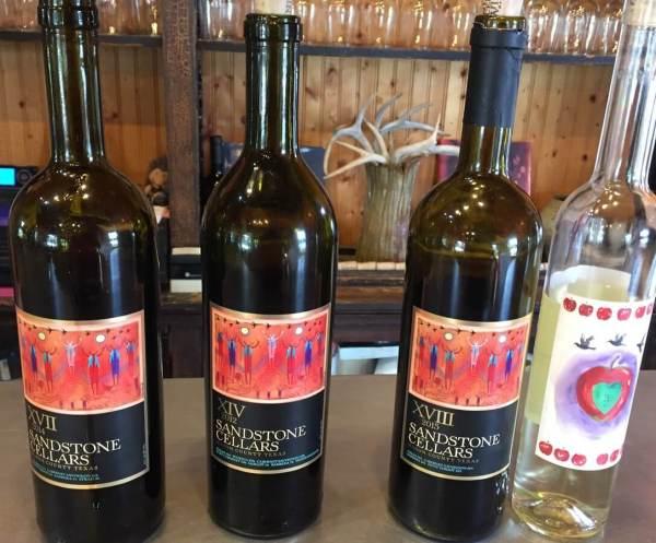 Sandstone Cellars wines