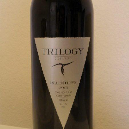 Trilogy Cellars Relentless