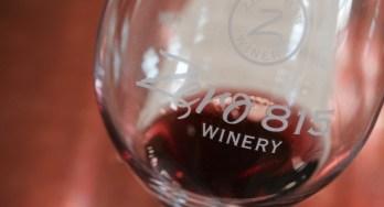 Zero 815 Winery glass