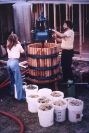 Paul and Merrill 1983 Harvest