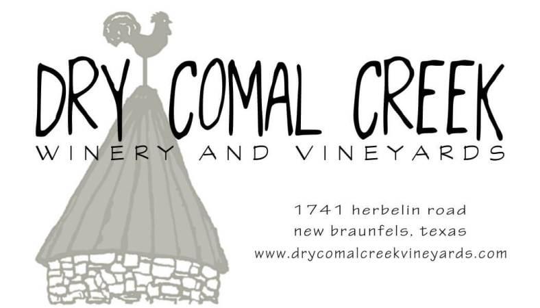 Dry Comal Creek logo and address