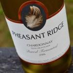Pheasant Ridge Winery Chardonnay 2006 Review