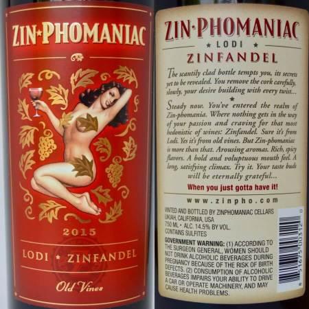 Zin-Phomaniac labels