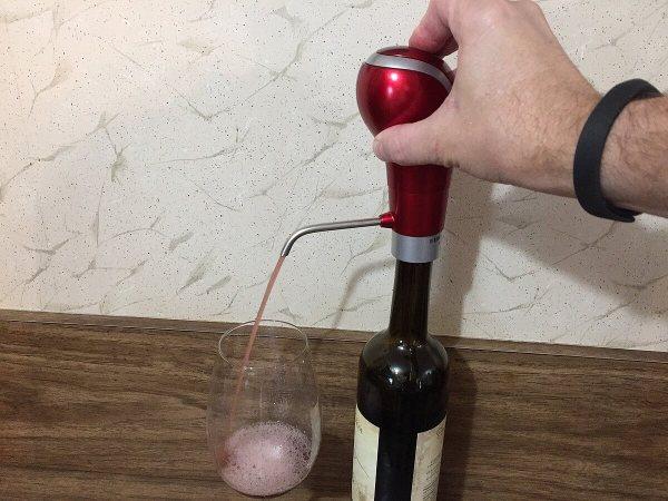 Waerator wine aerator