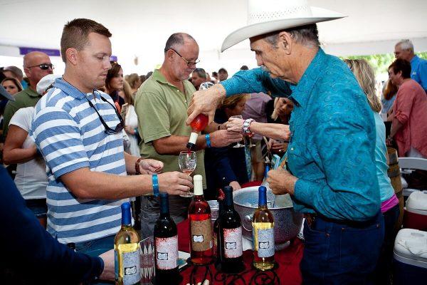Gruene Music & Wine Fest Texas wine 2 ©jimflynn