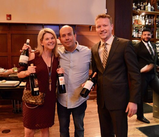 L to R: Jennifer & Michael Rangel (Grand prize raffle winners), Dave Lund