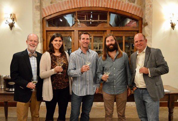 Texas Fine Wine winery representatives