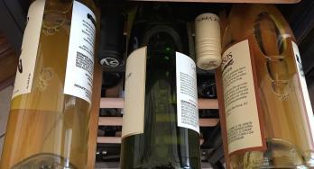 NewAir five bottles per shelf