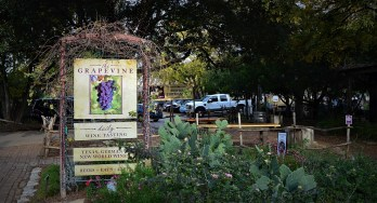 The Grapevine front sign