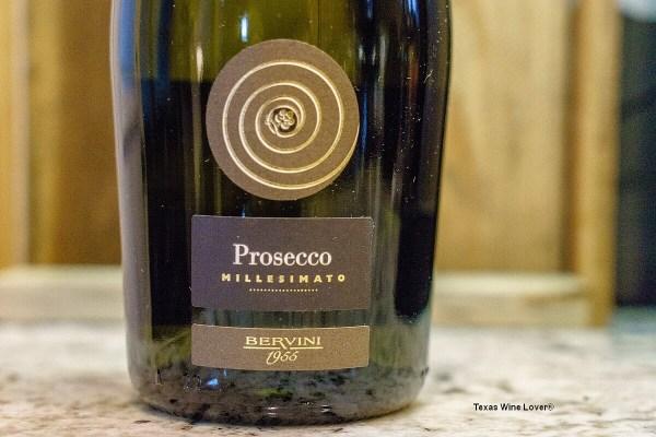 Bervini 1955 Prosecco bottle - featured