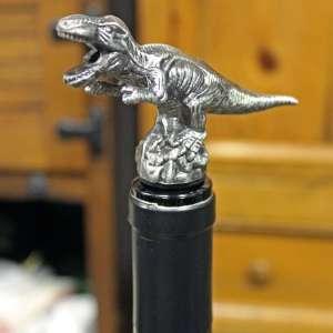 Dinosaur on bottle