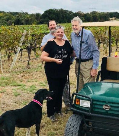 John & Debbie Wilson and Dr. Bobby Smith
