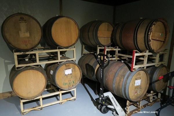 Blue Epiphany Vineyards barrels