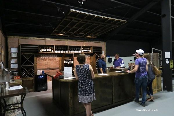 Blue Epiphany Vineyards tasting bar