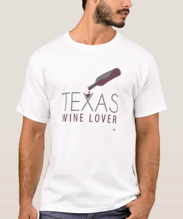 Texas Wine Lover Basic t-shirt front