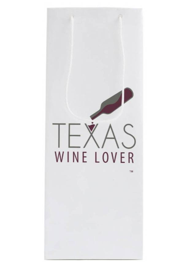 Texas Wine Lover Gift bag front
