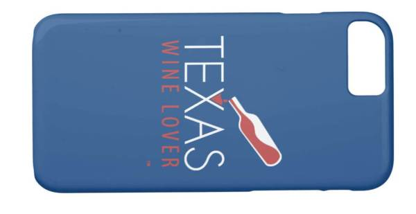 Texas Wine Lover iPhone 8/7 Case back horizontal