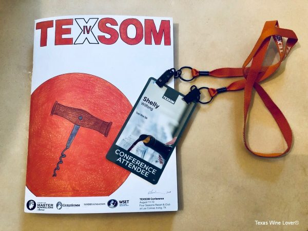 Shelly Wilfong TEXSOM badge
