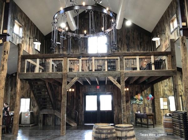 Bingham Family Vineyards - Fredericksburg tasting room