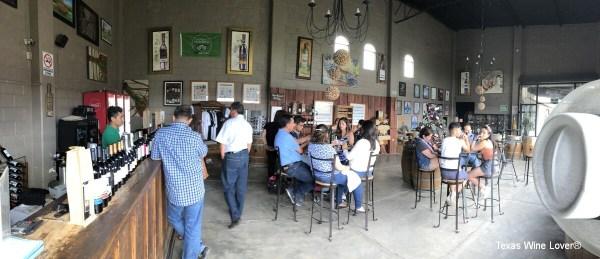 La Redonda tasting room