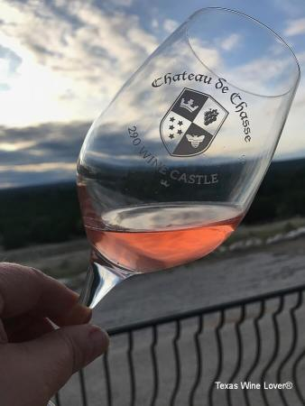 290 Wine Castle glass of wine
