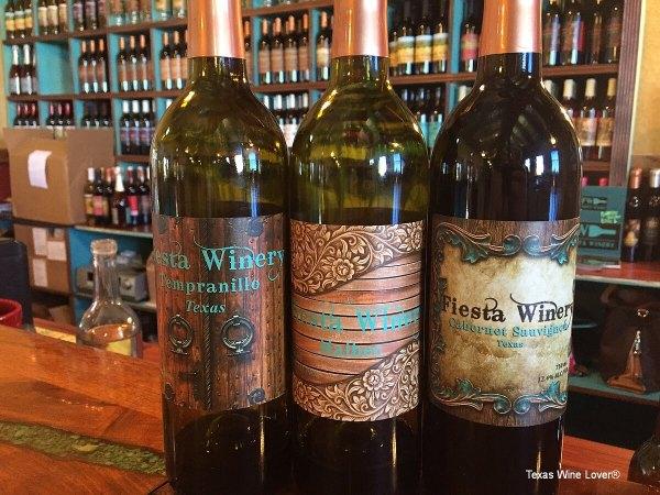 Fiesta Winery dry wines