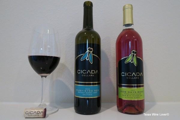 Cicada Cellars bottles