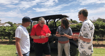 Texas High Plains Farmhouse Vineyards tour