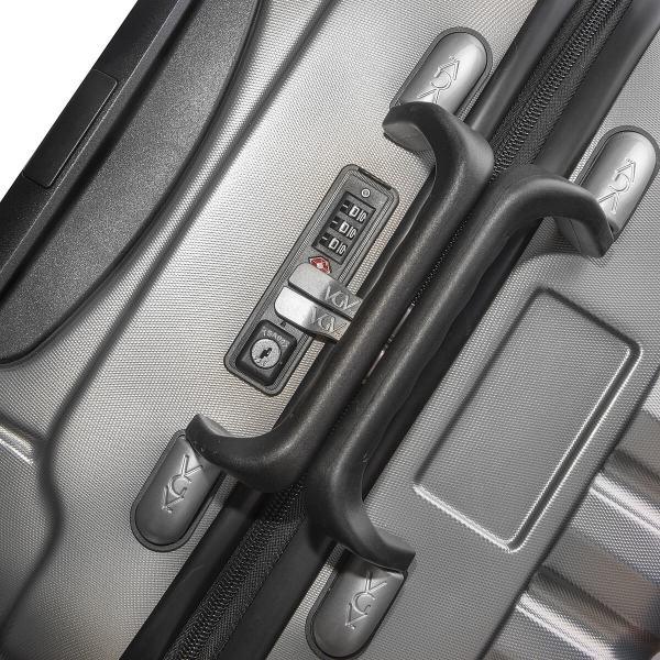 VinGardeValise Silver 05 TSA Lock