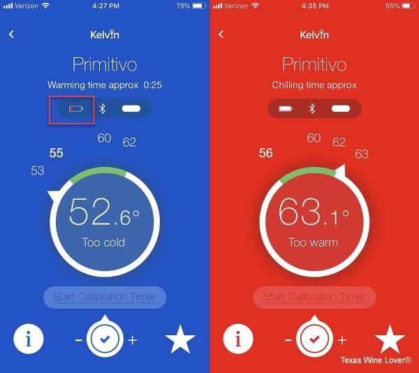 Kelvin K2 Primitivo in app