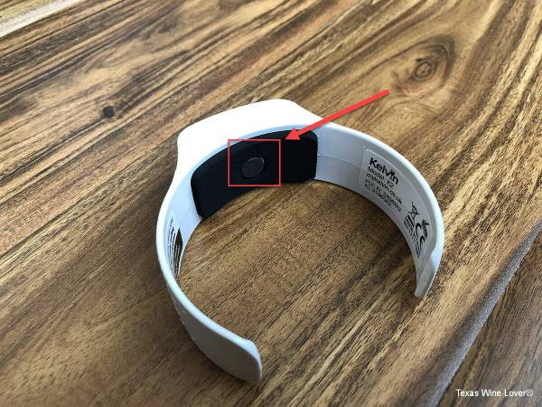 Kelvin K2 band with sensor