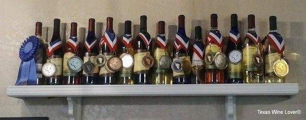 TF Vineyard & Winery awards