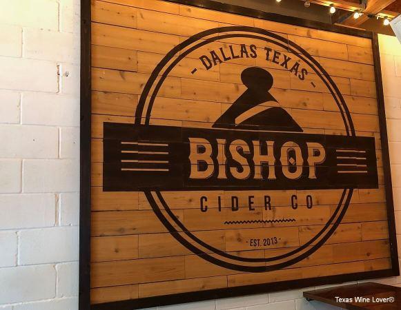 Bishop Cider Co sign