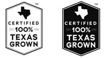 100% Texas Grown Certification Mark